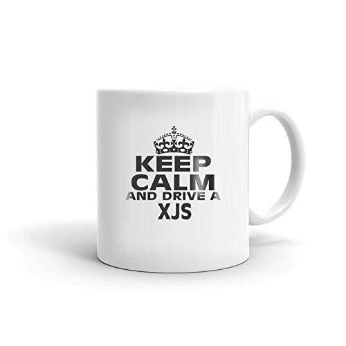 JAGUAR XJS Keep Calm and Drive Coffee Tea Ceramic Mug Office Work Cup Gift 11 oz