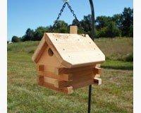 Essentials Wren House Songbird - Songbird Essentials Log Cabin Wren House