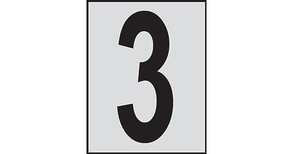 Amazon.com: Brady 5900 – 3, bradylite números y letras ...