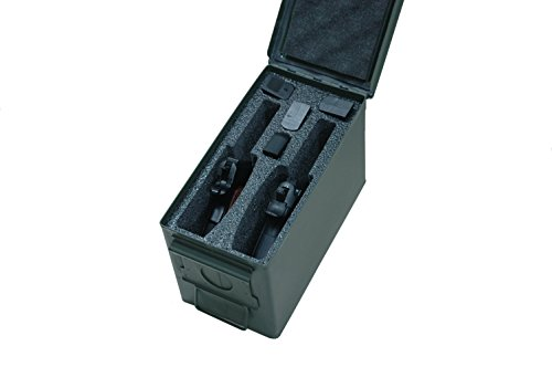 case club 2 pistol holder  50 cal ammo can foam  pre