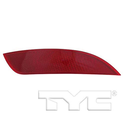 Rear Bumper Ford Focus (Fits 2015-2018 Ford Focus Passenger Side Rear Bumper Reflector NSF Certified With Bulbs Included FO1185110 - Replaces F1EZ 13A565 A ;BASE|ELECTRIC|ST; Hatchback)