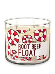 (Bath and Body Works White Barn Root Beer Float 3 Wick Candle 14.5 Ounce)