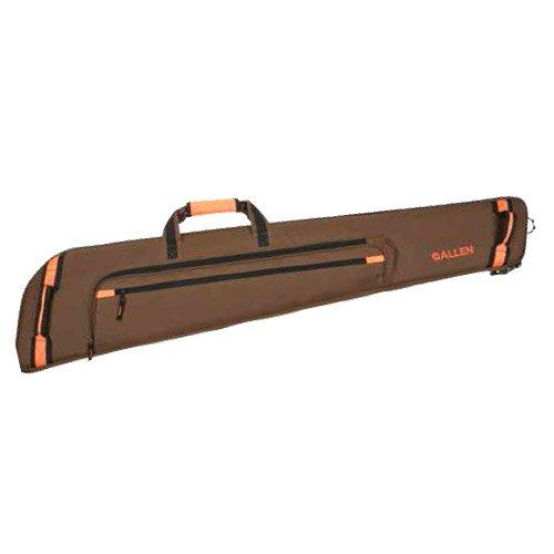 Allen Creede Extra Wide Scoped Rifle Case, 48-Inch, Brown/Orange