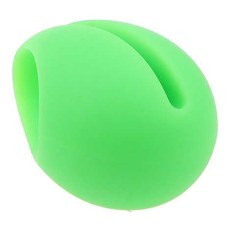 Homyl Cell Phone Stand, Portable Phone Holder Silicone Dock Sound Amplifier for iPhone Samsung and Other More Smart Phones