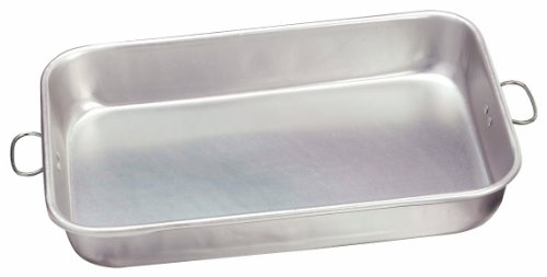 Crestware ABP1117 Aluminum Bake Pan, 11 by 17-Inch by 2-1/2-Inch, 11 x17 x 2-1/2