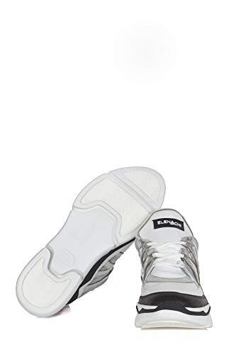 E1700 Nero Femme Elena argent bianco Blanc Couleur Iachi x8za1
