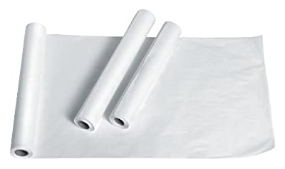 """Medline NON23325 Standard Crepe Exam Table Paper, 21"""" x 125' Size (Pack of 12)"""