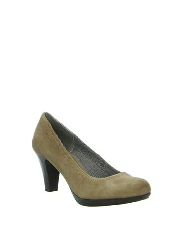 Tamaris TAMARIS - Zapatos de tacón de cuero mujer Verde Oliva