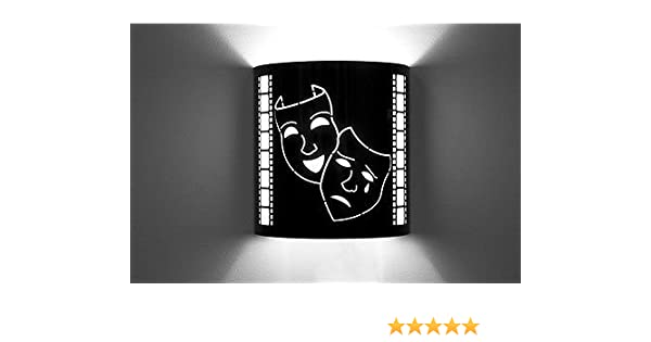 Various Home Theater Sconce Wall Lighting Cinema Movie Style Wall Sconces Home Theatre Sconce Design Images Usa Laser Cut New Masks Amazon Com