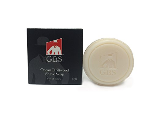 G.B.S 97% Men's Cedar & Pine Shave Soap –All Natural Shave Soap for Men- Creates a Rich Lather Foam for Ultimate Wet…
