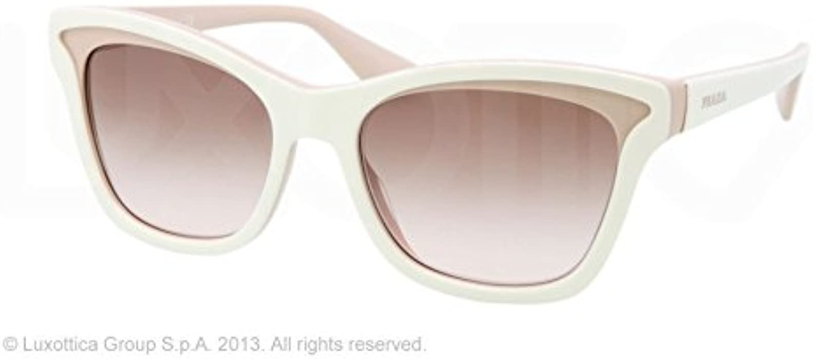 9c3ab8e69f86a Prada 38289 KAW0A6 Ivory and Mink 16PS Parallel Universes Cats Eyes  Sunglasses