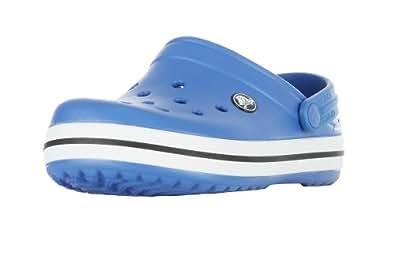 Crocs Kids Crocband - Zapatos para niños, color azul, talla 22-24