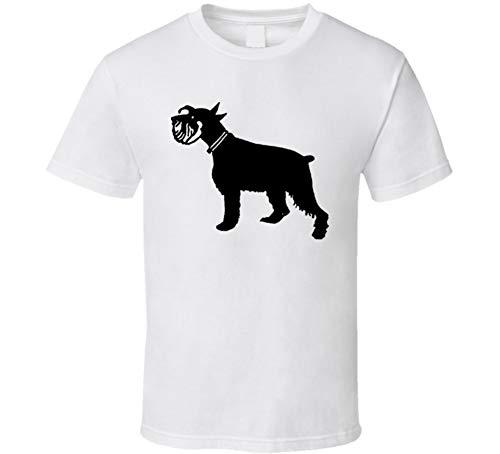 - Standard Schnauzer Custom Dog Breed is My Homeboy T Shirt L White