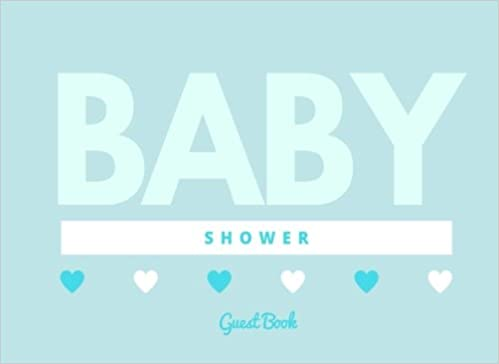 NEW Darice 8.5 Inch by 6 Inch Guest Book Baby Blue FREE SHIPPING