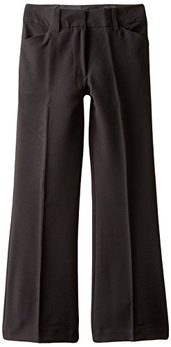 Amy Byer Girls 7-16 2 Way Stretch Classic Pant,Black,12