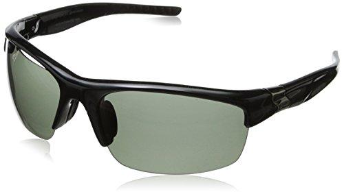 Dot Dash Fractal Oval Polarized Sunglasses,Black,63 - Sunglasses Polarized Progressive