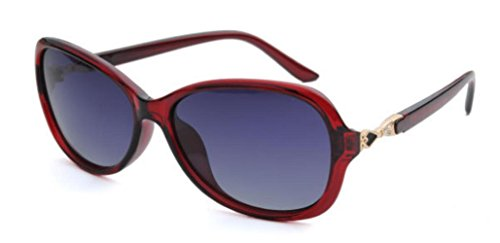 De Fashion Rojo Sunglasses Sol Shopping Gafas Lady Street Shoot Party HfSqWnAB
