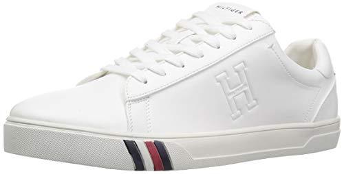 (Tommy Hilfiger Men's JERON Shoe, white, 11.5 M US)