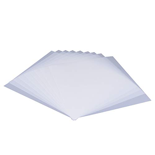 - 15 Pieces Blank Stencil Sheets,Square Blank Mylar Templates, Make Your Own Stencils with Cutting Machines, 30x30cm