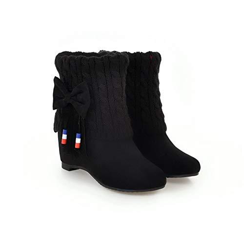 Sandales Compensées Noir 36 Abl11113 Noir Balamasa 5 Femme FEWc56qOq