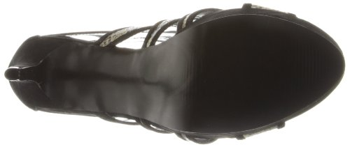 Carlos Carlos Santana Women's Black Snake Strata by Dress aBBqH6c81