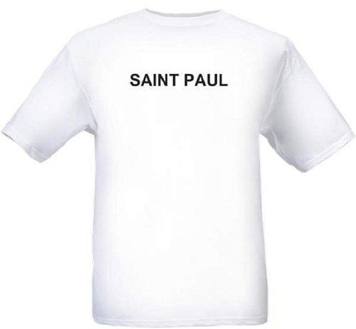 SAINT PAUL - City-series - White T-shirt - size Small