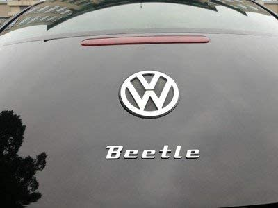 3d metal Beetle Car Sticker Emblem Badge decals for VW Volkswagen Beetle Car Styling DIY decoration accessories