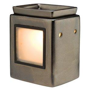 Amazon.com: Scentsy Cube Gunmetal Scentsy Gallery Warmer ...