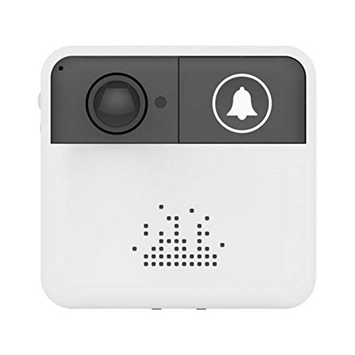 Doorbell Ring, Wireless Low Power Consumption HD WiFi Intelligent Door Bell with Live View and Two Way Audio & SD Card Local Recording Mobile Remote Control Without Battery and Memory Card by Roful