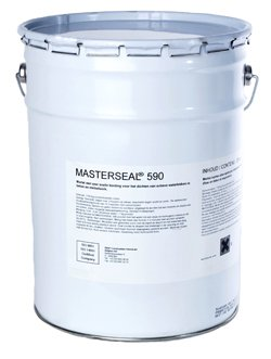 (BASF Masterseal 590 (Formerly Waterplug) Portland Cement-Based Hydraulic Repair Mortar 50 lb. Pail)