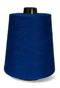 100% Linen Lace Yarn Grey Orange Yellow Blue l 1lb Cone 3-ply Flax (Royal Blue) (Linen Thread Cotton)