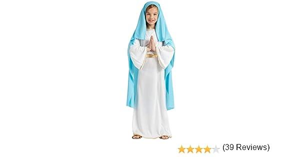 DISFRAZ VIRGEN MARIA TALLA 10-12: Amazon.es: Juguetes y juegos