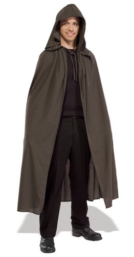 Rubie's Costume Men's Lord Of The Rings Adult Elven Cloak, Brown, Standard (Lord Of Rings Rings)