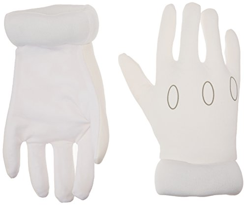 White Gloves For Luigi Costumes - Nintendo Super Mario Brothers Child Gloves,