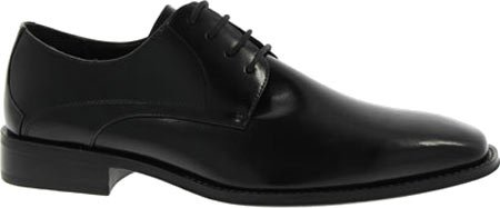 Stacy Adams Mens Oxfords Wayde Scarpe In Pelle Nera