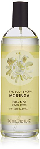 The Body Shop Moringa Body Mist, Paraben-Free Body Spray, 3.3 Fl. Oz.