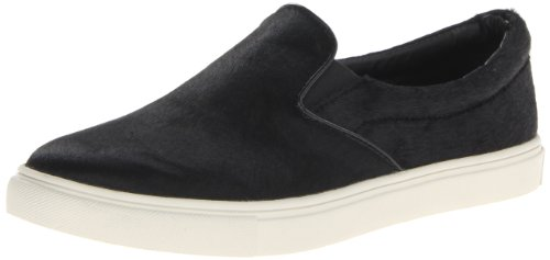Ecentric Fashion Sneaker Black Women's Madden Steve On Slip Pony qx6B7nET