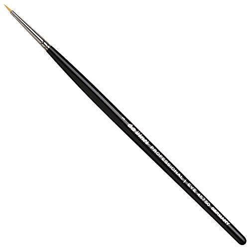 da Vinci Cosmetics Series 45750 Professional Eyeliner Brush, Pointed Round Synthetic, Size 1, 9.5 Gram (Best Eyeliner Brush Reviews)