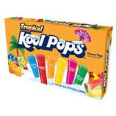 Tropical Kool Freezer Pops 20 Ct Box (3 Pack)