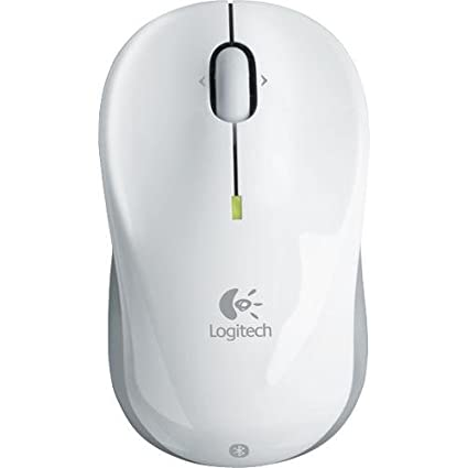 6c7982b88c2 Amazon.com: Logitech V470 Bluetooth Cordless Laser Mouse for Notebooks  (White): Computers & Accessories