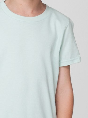 American Apparel Toddlers Fine Jersey Short-Sleeve T-Shirt (2105) -LEMON -4T by American Apparel (Image #4)