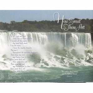 (Concordia Publishing House 93080 Panoramic Hymn Series Bulletin How Great Thou Art )