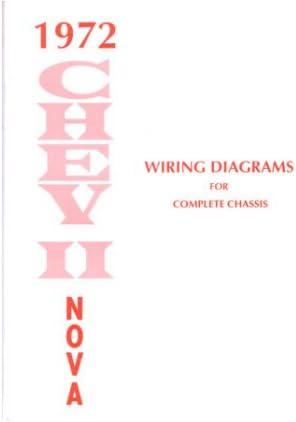 Amazon Com 1972 Chevrolet Nova Wiring Diagrams Schematics Everything Else