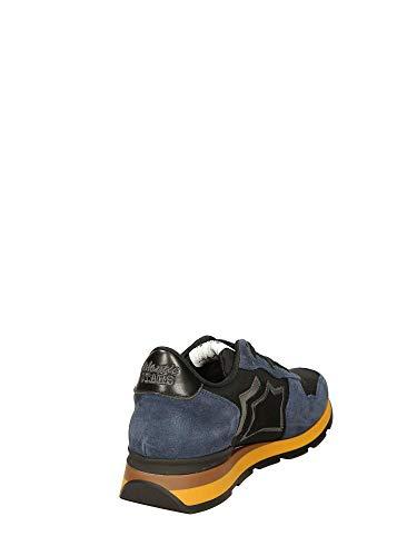Sneakers Uomo Blu Stars Nero Bassa 46 Antares Atlantic HwEWIqpw