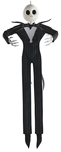 Disney The Nightmare Before Christmas Jack Skellington Full Size Posable Hanging Character Decoration