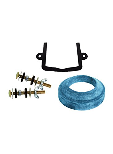 Danco 97023 Universal Tank to Bowl Toilet Repair Kit with U Shaped Gasket by Danco