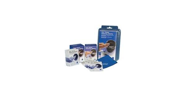 Carl Zeiss - Kit de limpieza óptica (30 toallitas húmedas y 2 paños de microfibra): Amazon.es: Electrónica