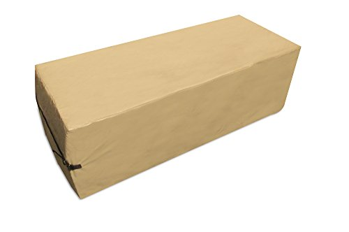 Protective Covers 2285-TN Quality Rectangular Outdoor Firepit Cover, Tan