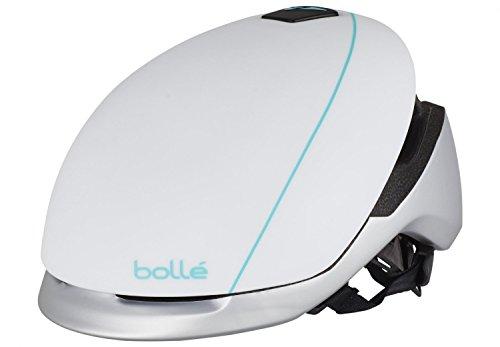 Cheap Bolle Messenger Standard Helmet, White/Silver, 54-58cm