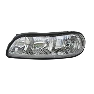 TYC 20-5128-00-1 Left Replacement Head Lamp